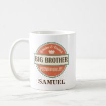 Big Brother Personalized Office Mug Gift