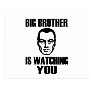 Big Brother Portrait Postcard