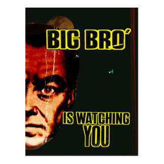 Big Brother... Postcard