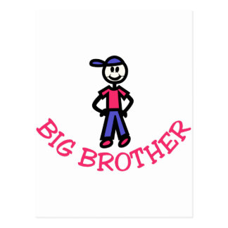 Big Brother Postcard
