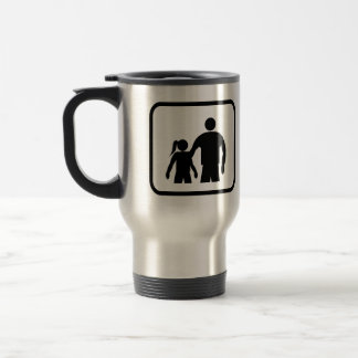 Big Brother Pro (with younger sister) Travel Mug