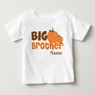 Big Brother Pumpkin Personalized Shirt
