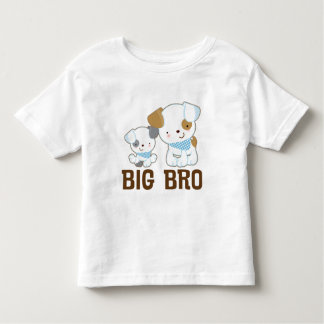 Big Brother Puppy Dogs Boys T-shirt