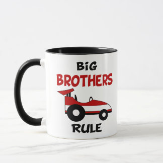 Big Brother Race Car Mug