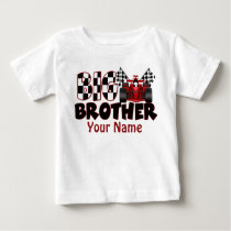 Big Brother Race Car Personalized T Shirt