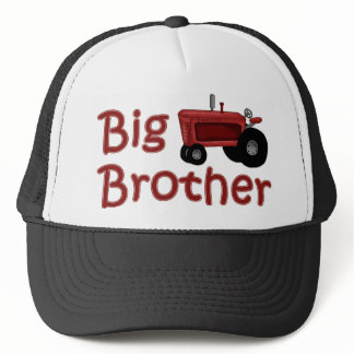 Big Brother Red Tractor Trucker Hat