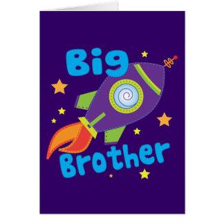 Big Brother Rocket Ship Sibling Sets Card