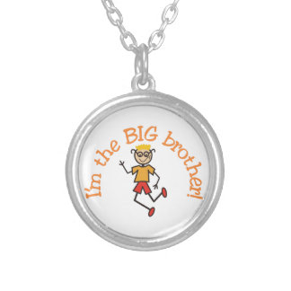 Big Brother Round Pendant Necklace