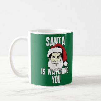 Big Brother Santa Claus Is Watching You Coffee Mug