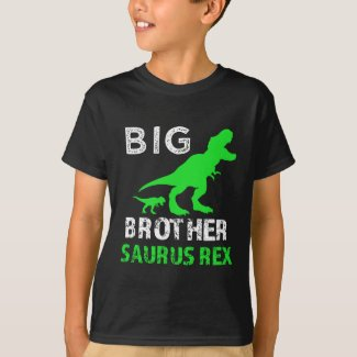 Big Brother Saurus Rex Shirt Funny Dino T-shirt