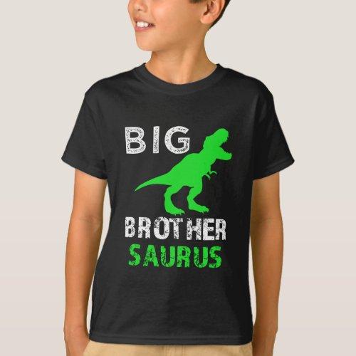 Big Brother Saurus Rex Shirt Funny Dino T_shirt