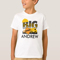 Big Brother Shirt | Construction | Sibling Shirt