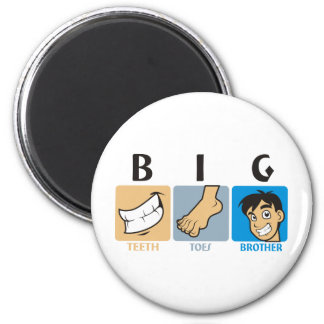Big Brother Shirt & More! 2 Inch Round Magnet