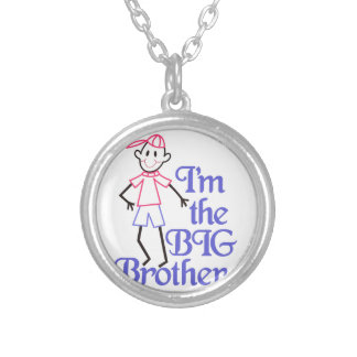 Big Brother Silver Plated Necklace