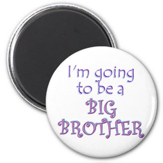Big Brother/Sister 2 Inch Round Magnet