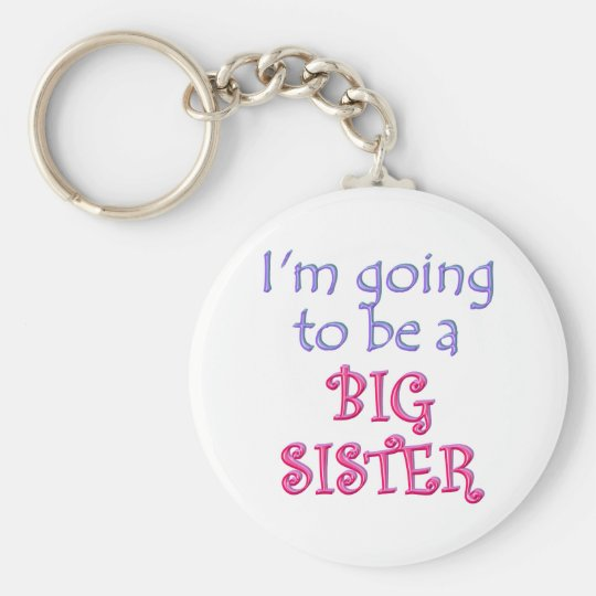 Big Brother/Sister Keychain
