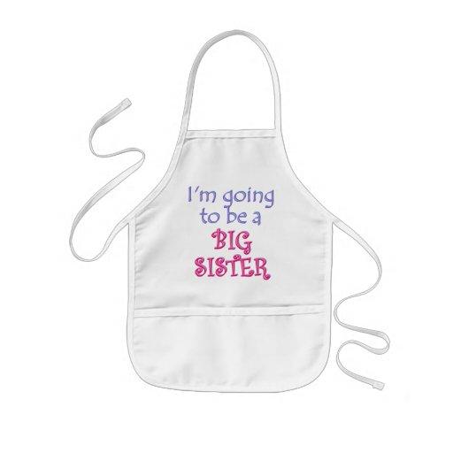 Big Brother/Sister Kids' Apron