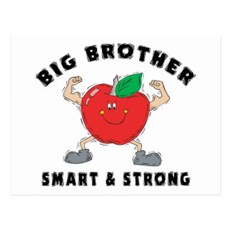 Big Brother Smart & Strong Postcard