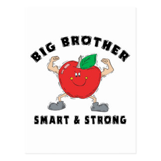 Big Brother Smart & Strong Postcard