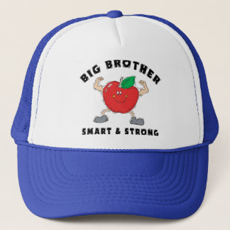 Big Brother Smart & Strong Trucker Hat