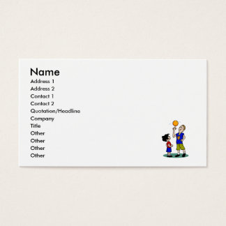 big brother spinning ball business card