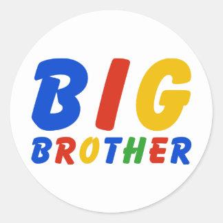 BIG BROTHER CLASSIC ROUND STICKER
