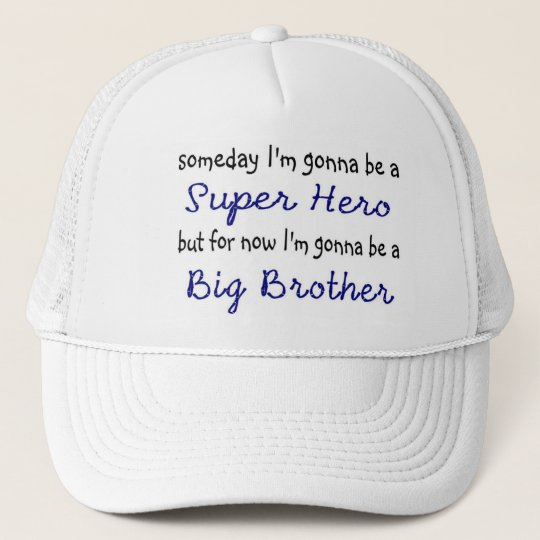 Big Brother Superhero Hat
