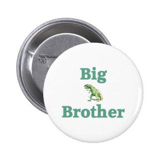 Big Brother T-Rex Dinosaur 2 Inch Round Button