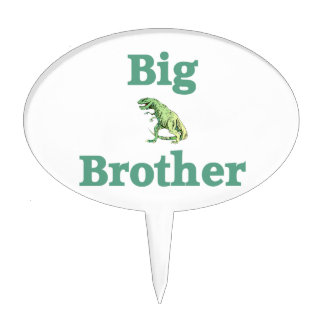 Big Brother T-Rex Dinosaur Cake Topper