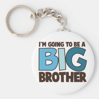 big brother t-shirt keychain