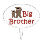 Big Brother Teddy Bears Cake Pick