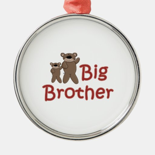 Big Brother Teddy Bears Ornament