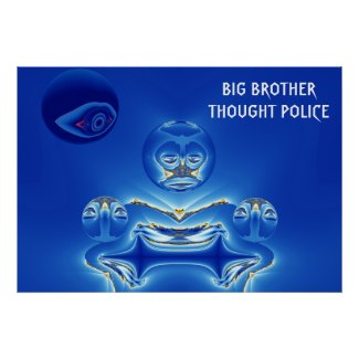 Big Brother Thought Police Print