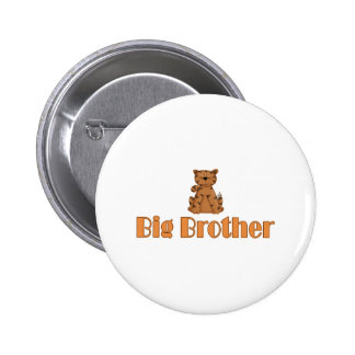 Big Brother Tiger Button