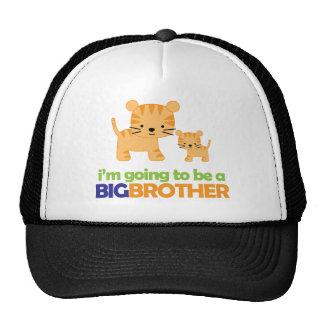 Big Brother Tiger T-shirt Pregnancy Announcement Trucker Hat