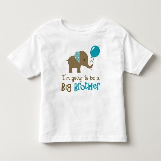 Big Brother to be - Mod Elephant t-shirts