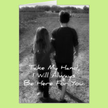 Big Brother To Little Sister Card
