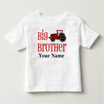 Big Brother Tractor Personalized T-shirt