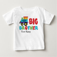 Big Brother Train Baby T-Shirt