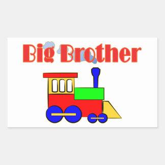 Big Brother Train Engine Rectangle Sticker