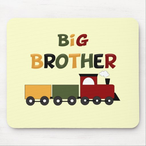 Big Brother Train Mousepads