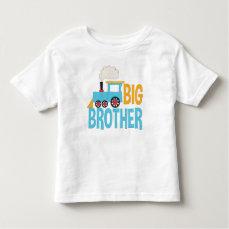 Big Brother Train Shirt cute announcement blue