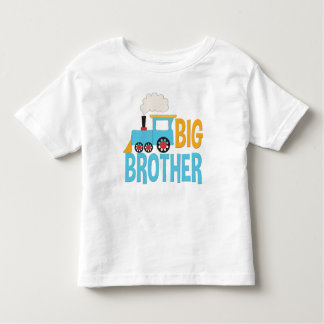 Big Brother Train Shirt cute announcement blue