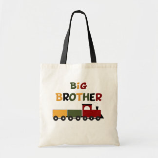 Big Brother Train Tote Bag