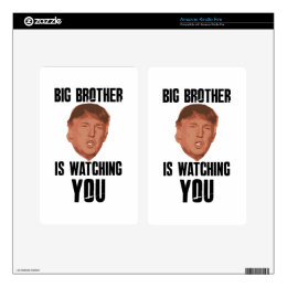 Big Brother Trump Skin For Kindle Fire