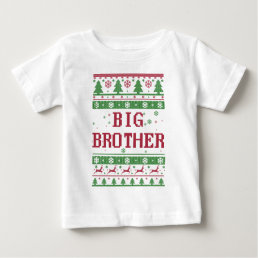 Big Brother Ugly Christmas Baby T-Shirt