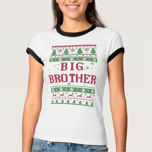 Big Brother Ugly Christmas T-Shirt After Christmas Sales 5630