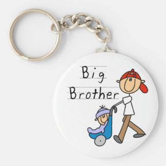 Big Brother With Little Brother Keychain
