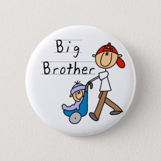 Big Brother With Little Brother Pinback Button