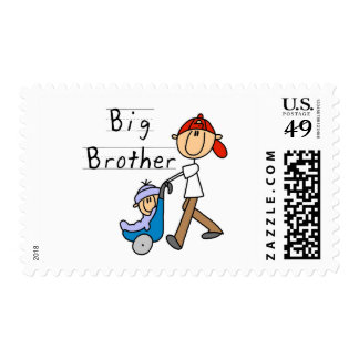 Big Brother With Little Brother Postage Stamp